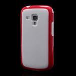 Plastogélové puzdro na Samsung Galaxy Trend, Duos- červené - 1/5