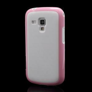 Plastogélové puzdro pre Samsung Galaxy Trend, Duos- ružové - 1