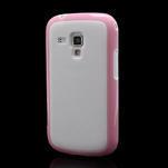 Plastogélové puzdro pre Samsung Galaxy Trend, Duos- ružové - 1/5
