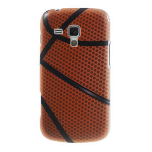 Plastové puzdro na Samsung Trend plus, S duos - basketbal - 1
