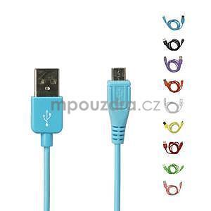micro USB kabel - délka 1 m, rose