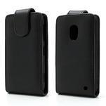 Flipové puzdro na Nokia Lumia 620- čierné - 1/6