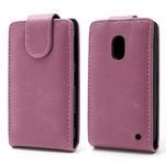 Flipové puzdro na Nokia Lumia 620- růžové - 1/5