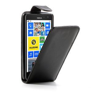 Flipové puzdro pre Nokia Lumia 625- čierné - 1