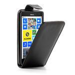Flipové puzdro pre Nokia Lumia 625- čierné - 1/7