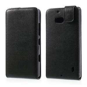 Flipové puzdro na Nokia Lumia 929/930 - čierné - 1