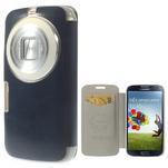 Flipové puzdro na Samsung Galaxy K zoom C115 - modré - 1/7