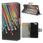 Peněženkové pouzdro na Sony Xperia Z1 Compact D5503 - meteor - 1/7