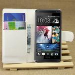 Peňaženkové puzdro pre HTC Desire 601- biele - 1/7