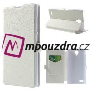 Peňaženkové puzdro na Xiaomi Hongmi Note- biele - 1