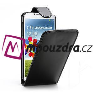 Flipové pouzdro pro Samsung Galaxy S4 i9500- černé - 1