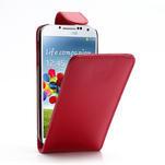 Flipové pouzdro pro Samsung Galaxy S4 i9500- červené - 1/5