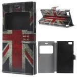 Flipové puzdro na Xiaomi Mi3- UK vlajka - 1/7
