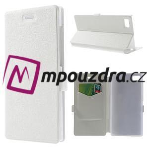 Peňaženkové puzdro na Xiaomi Mi3- biele - 1