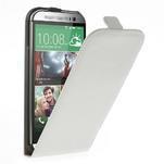 Flipové puzdro pre HTC one M8- biele - 1/7