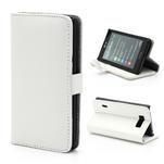 Peňaženkové puzdro na LG Optimus L7 P700 - biele - 1/7