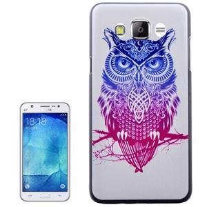 Gelový obal na mobil Samsung Galaxy J5 (2016) - sova - 1
