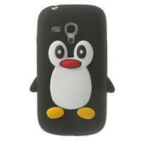 Silikonový TUČŃÁK puzdro na Samsung Galaxy S3 mini i8190- čierny - 1/7