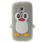 Silikonový TUČŃÁK puzdro na Samsung Galaxy S3 mini i8190- šedý - 1/7