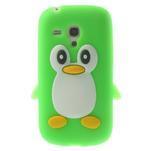 Silikonový TUČŃÁK puzdro na Samsung Galaxy S3 mini i8190- zelený - 1/7