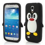 Silikon 3D TUČŇÁK pro Samsung Galaxy S4 mini i9190- čierný - 1/5