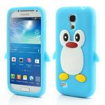 Silikon 3D TUČŇÁK pro Samsung Galaxy S4 mini i9190- svetlomodrý - 1/6
