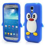 Silikon 3D TUČŇÁK pro Samsung Galaxy S4 mini i9190- modrý - 1/5