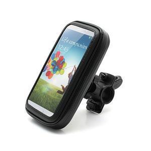 Voděodolný obal na kolo pro mobilní telefony do 14 x 7,5 cm - 1