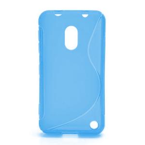 Gélové S-line puzdro na Nokia Lumia 620- modré - 1