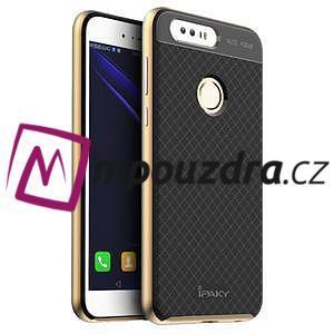 Odolný obal 2v1 pre mobil Honor 8 - zlatý - 1