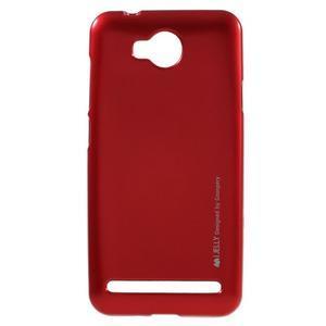 Luxusní gélový obal na mobil Huawei Y3 II - červený - 1