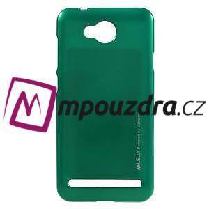 Luxusní gélový obal na mobil Huawei Y3 II - zelený - 1