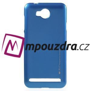 Luxusní gélový obal na mobil Huawei Y3 II - modrý - 1