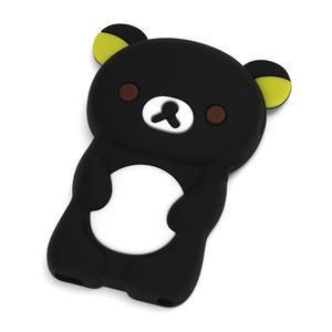 Bear silikónový obal pre iPod Nano 7 - čierny - 1