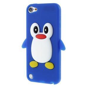 Penguin silikónový obal pre iPod Touch 6 / iPod Touch 5 - tmavomodrý - 1