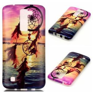 Emotive gélový obal pre mobil LG K8 - snívanie - 1