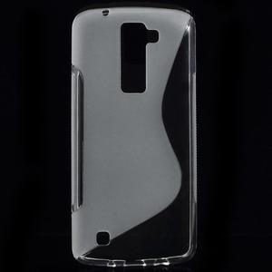 S-line gélový obal pre LG K8 - transparentný - 1