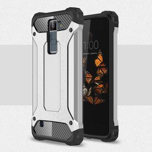Armory odolný obal pre mobil LG K8 - strieborny - 1