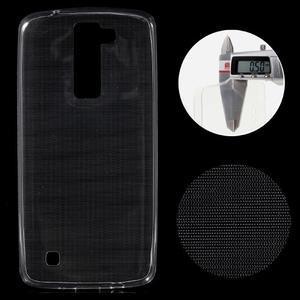 Ultratenký gélový obal pre mobil LG K8 - transparentný - 1