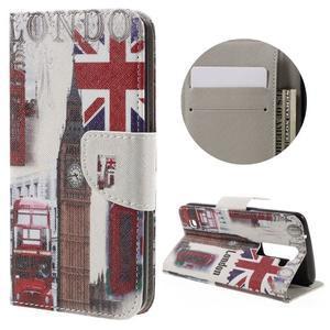 Emotive PU kožené puzdro pre LG K8 - United Kingdom - 1