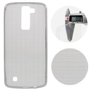 Ultratenký gelový obal na mobil LG K8 - šedý - 1