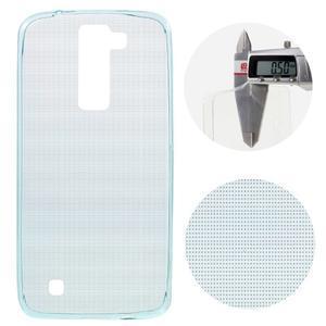 Ultratenký gélový obal pre mobil LG K8 - svetlomodrý - 1