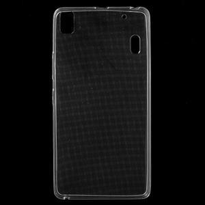 Ultra tenký slim obal na Lenovo A7000 / K3 Note - transparentný - 1