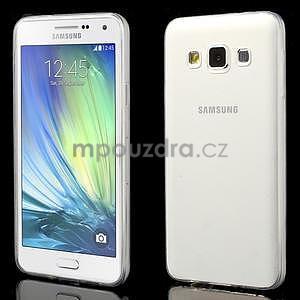 Slim obal na Samsung Galaxy A3 - transparentný - 1