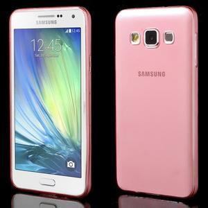 Slim obal na Samsung Galaxy A3 - červené - 1