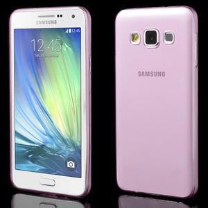 Slim obal pre Samsung Galaxy A3 - ružové - 1