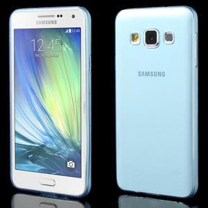 Slim obal pre Samsung Galaxy A3    - svetlo modré - 1