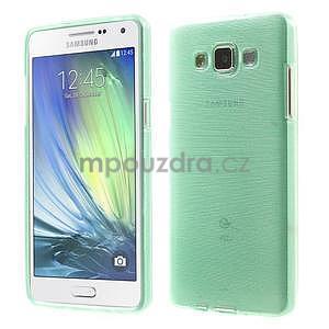 Brúsený gélový obal Samsung Galaxy A5 - cyan - 1