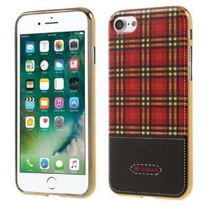 Emotive gélový obal pre iPhone 7 a iPhone 8 - vzor IV - 1