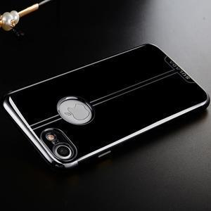 BlackDiamond gélový obal pre iPhone 7 a iPhone 8 - sivý - 1